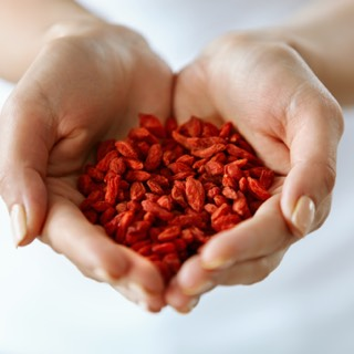 Goji and acai berries