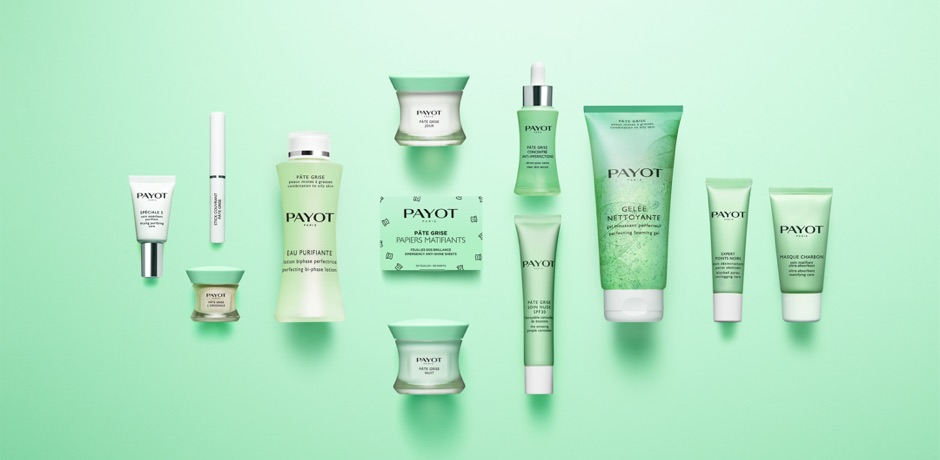 The complete PAYOT Pâte Grise range